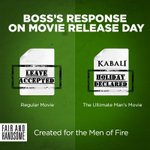Ready to celebrate #Kabali the man way? Share your ideas & you may be a part of the Kabali Success Party! #ManOfFire https://t.co/FI22n0BeAI