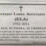 #DueloAlELA Ni Pan, Ni Tierra, Ni Libertad https://t.co/3nw5592ePb