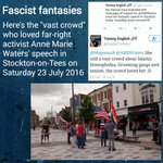 Fascist fantasies v reality. Theres #NoPlaceForHate in Stockton. Read our report at https://t.co/xPcaIjOKQJ #antifa https://t.co/5b1KFAfMFM