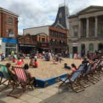 The tide goes out a long way in #Lincoln - but good to see so many enjoying the beach! @Lincoln_BIG @thinkopenplan https://t.co/PKbWdlUS2W