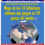 750.000 chilenos en Marcha #NOMasAFPs   74 chilenos juegan fútbol fuera del país  ¿Adivinen qué fue portada? https://t.co/dj6hWwif4O