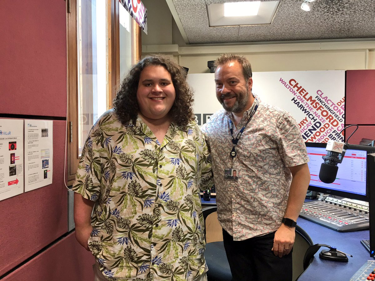 With me now is the amazing @JonAntoine live in the @BBCEssex studio. #believe https://t.co/LvYmCJbJLq