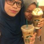 first selfie with roomie (at @StarbucksMy in Johor Bahru, Johor w/ @nuhanoorhakim) https://t.co/57LkNrRxz0 https://t.co/krC0yoLOvg