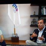 #Entérate Gobernador @miguelmarquezm habla con @Jen_m6 sobre Gira por Europa en @BajioTv #GtoGanaEmpleos https://t.co/g0O1D7hZYs