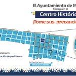 #AyuntaInforma los trabajos de mejoramiento del centro histórico para esta semana. ¡Tome sus precauciones! https://t.co/bGvbYetfZl