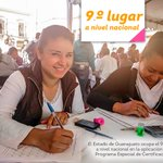 El Estado de Guanajuato ocupa el 9.º lugar a nivel nacional en la aplicación del Programa Especial de Certificación https://t.co/lg8eMQh8dH