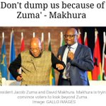 Dont dump us ANC because of Zuma - Makhura. Screamer!!! Its to late! Looking forward to the new South Africa! https://t.co/kSdcStsuJ4