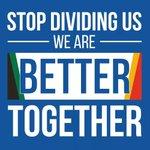 #ImVotingDA because the DA unites South Africans, not divides... https://t.co/Viun6jh7GV