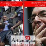 Triste do país que prende Eduardo Suplicy e deixa Eduardo Cunha solto! Um é honesto o outro é ladrão. Onde vamos? https://t.co/VUlUoAJgp4