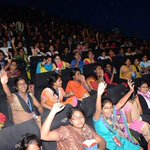 Women support for #Kabali. #Kabali booming houseful shows with the support of families and children #Kabalida https://t.co/1l9NLsE4cR