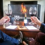 """Rainy days are made for a """"Something Meaty Wine Tour"""" and chilling in front of a fireplace at @ZorgvlietWines 🍷 https://t.co/Xi4Et4DJHW"""
