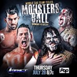 This just in! World Tag Team Titles on The Line! Thursday! #MonstersBall #IMPACTonPOP https://t.co/bMXzORyuMA