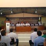 Sesión solemne de Cabildo en Viesca. 285 aniversario #CoahuilaEnPaz https://t.co/bO6kmJsL2s