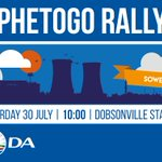 PHETOGO ko-Soweto Join us on Saturday as we hold our final rally at the Dobsonville Stadium. #ImVotingDA https://t.co/CjAv2nAfbS