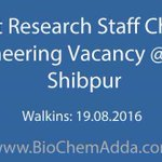 #Project #Research #Staff #Chemical #Engineering #Vacancy @ IIEST, Shibpur https://t.co/VTErmx67sv https://t.co/5ldUP3eazh