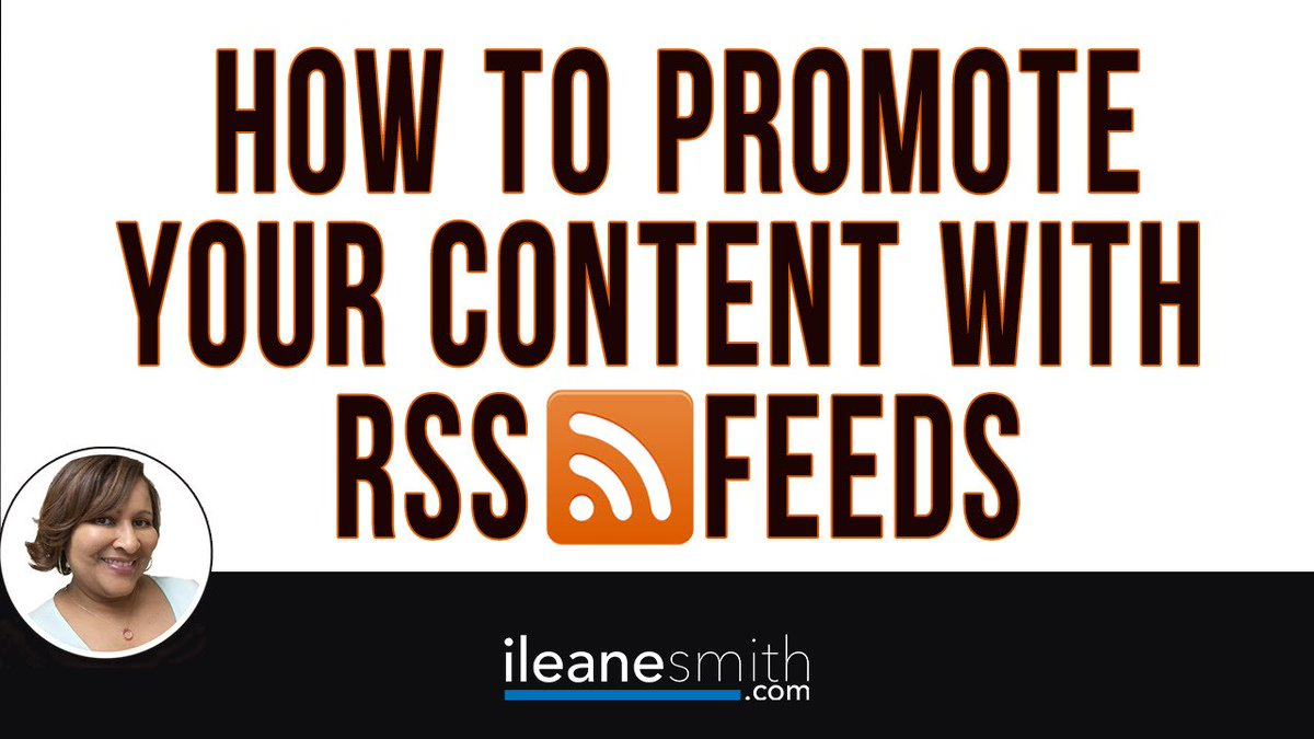 How to Promote Your Content with RSS Feeds https://t.co/3XRi1sqGQ5 #contentmarketing #bloggingtips https://t.co/wl0lYwvvTE