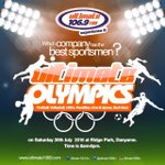 5 DAYS MORE TO #UltimateFmOlympics  Experience It....#UltimateFmOlympics @Ultimate1069fm https://t.co/mcs5mXaujw