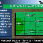 Storm chances increasing across the area this afternoon through the evening hours. Heavy rain possible. #phwx https://t.co/i5lmLmTRsS