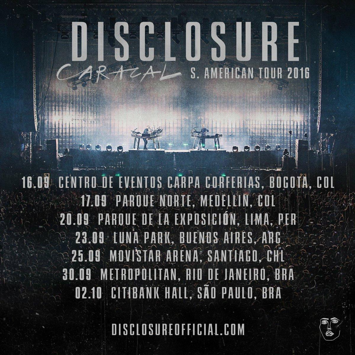 Disclosure en Bogotá y Medellín