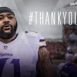 We have placed T Phil Loadholt on the Reserve/Retired List. #ThankYouPhil MORE: https://t.co/qNeqP790sG https://t.co/EYb9REel1W