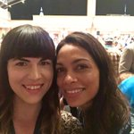 With fellow delegate for @SenSanders the real @rosariodawson! Shes such a badass! #DNC https://t.co/LGCLgzIR7R