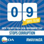 #ImVotingDA in 9 days from now because Im committed to stopping corruption in NMB. #TrollipForMayor https://t.co/sTSy8v10lC