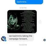 Kashmiris r taking pellet poster campaign forward. Kashmiris design their own poster msg for CM Mehbooba Mufti https://t.co/ryABnZjcFh