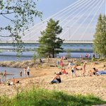 Yes, you can have sunbath in #Lapland too. #summer #warmweather #rovaniemi #Finland #today https://t.co/SZ81Edfgvk
