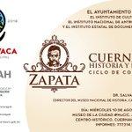 Te invitamos a ¡Cuernavaca, Historia y Personajes Ciclo de Conferencias! El 10 de agosto a las 17:00 hrs  #MuCiC https://t.co/1BnZ7YReqJ
