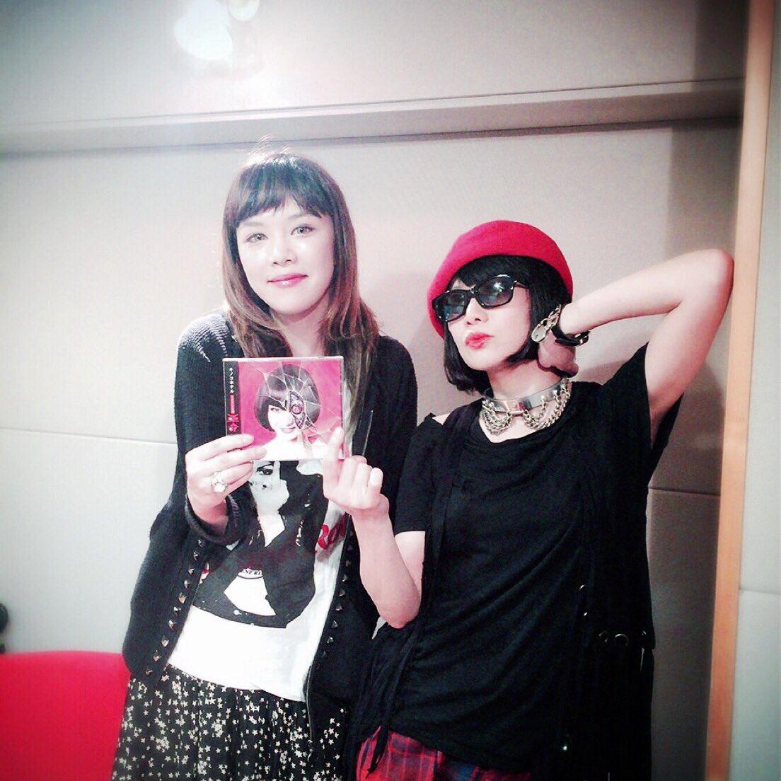 矢沢洋子ちゃんのラジオ番組でお喋りして来たわ。31日、FM NACK5で22時半からオンエアですので…