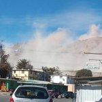 FOTO. Cerros de #ElSalvador #Chile luego del temblor 6.2 en el norte. Imagen de @YerkoAvalos https://t.co/DtREoDR1Tw