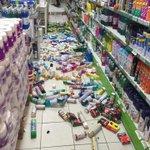Via @alegriagonzaa #Temblor 6.3 Supermercado en #Chañaral ( foto de @Lorena7Loes) https://t.co/1BpXPmrdme
