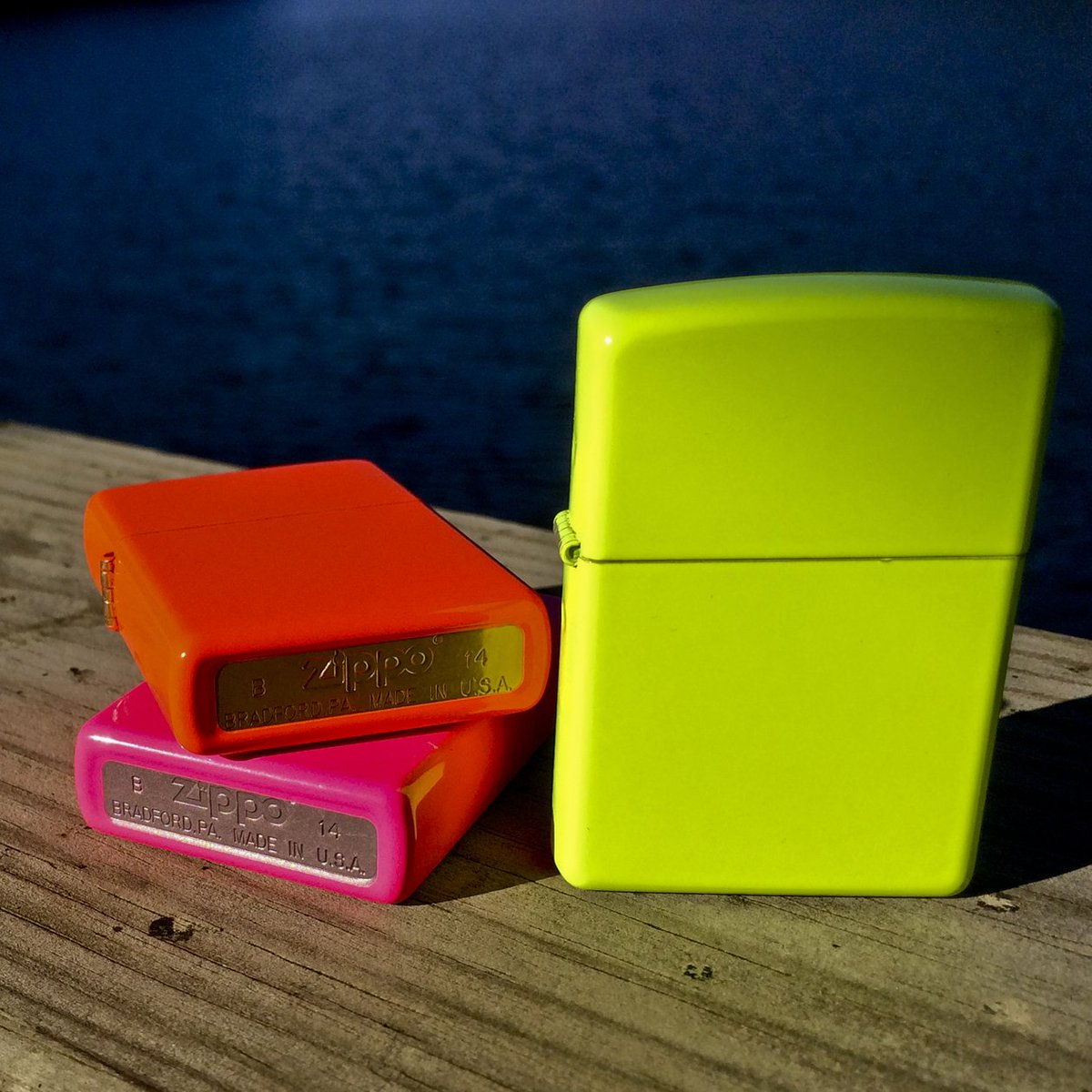 We added a little flare to our click. RT if you love our new #Neon #Zippo lighters! https://t.co/qhD989drys