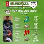 ¡Vota ya usando #MVPDeLaSemanaLMB y descubre al ganador hoy a las 8:45 PM en #ViveElRey por @mileniotv! https://t.co/4jMCKwY16B
