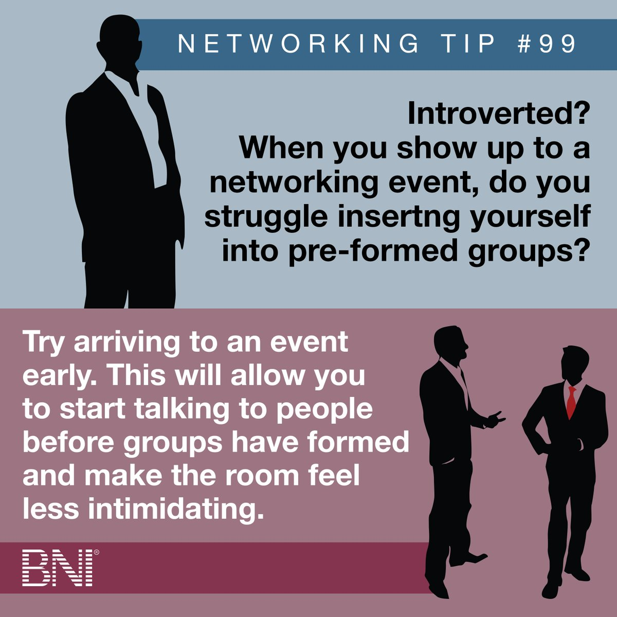 Calling all introverts: #networking doesn't have to be so draining. #tips https://t.co/4xkjSimniF