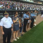 Were proud to partner with the Cubs to honor Chicago police who serve our communities. #ChiRise https://t.co/wbbUJuNItY