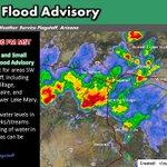 130pm MST: Urban/Small Stream Flood Advisory issued for areas SW of Flagstaff until 330pm MST. #azwx https://t.co/z1sB89XGpP