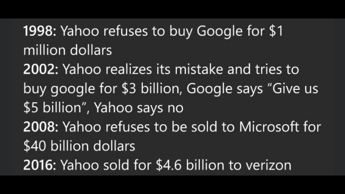 Bad day? At least you don't have #Yahoo's track record. #MondayMotivation (via @njooro) https://t.co/IEK4erDAbb