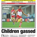 This is why we need black media. Front page of @koorimailnews last year when report was first handed down https://t.co/ncWTCCocgH