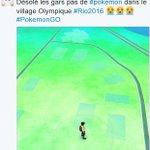 Atleta da França reclama na internet: Sem Pokémons na Vila Olímpica do Rio https://t.co/6gpyJpf96t https://t.co/bxDvt1Nj20