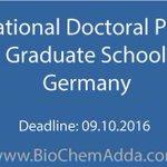 #International #Doctoral #Program @ ZIBI Graduate School Berlin - #MSc #Biology #Chemistry… https://t.co/RWFyzCPGku https://t.co/RNEFuGqmTL