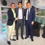 Gracias a los compañeros de Betis TV por el espacio dedicado al baloncesto!! #cbsevilla https://t.co/uKxw5QPUW7
