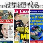 Nada de la multitudinaria marcha de Chile! Libertad de prensa...jajajaja...vendidos!!! @T13 @chvnoticiascl @Mega https://t.co/e4HX5W2G4S