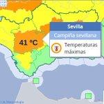 🔴 Mañana en #Sevilla 41 ºC 🌡🌞AVISO NIVEL NARANJA POR CALOR #FMA ️👉 Aquí unos consejos https://t.co/BHljWhQLph https://t.co/mrC5Vww4A6