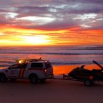 Another brilliant sunrise for our #dawnpatrol crew ahead of powerful surf conditions forecast for #goldcoast today. https://t.co/G6Pse3NWdY