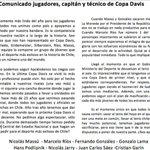🎾Los grandes del tenis se unen: Ríos, Massú y González exigen estadio para el tenis. https://t.co/OXLHtIHtgC