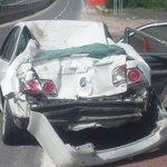 """Trágico accidente en la Autopista del Sol dela 2 muertos 8 lesionados a la altura de """"Paso Morelos"""". https://t.co/GwXIm55u2N"""