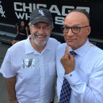 Look who I ran into at tonights @sox @Cubs game. Ron Magers enjoying retirement. https://t.co/71tCUHLBqV