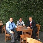 Con @CuauhtemocBco y José Manuel Saenz evaluamos resultados y estrategia en materia de seguridad para #Cuernavaca https://t.co/dJ7dOVfBd8