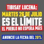 El país espera que mañana Sra Tibisay Lucena dé la cara y anuncie fecha y respete la Constitución! https://t.co/vogY7iyVNm